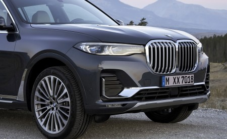 2019 BMW X7 (Color: Arctic Grey) Detail Wallpaper 450x275 (27)