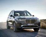 2019 BMW X7 (Color: Arctic Grey) Front Three-Quarter Wallpaper 150x120 (1)