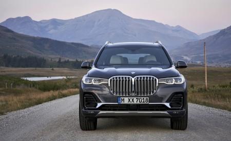 2019 BMW X7 (Color: Arctic Grey) Front Wallpaper 450x275 (22)