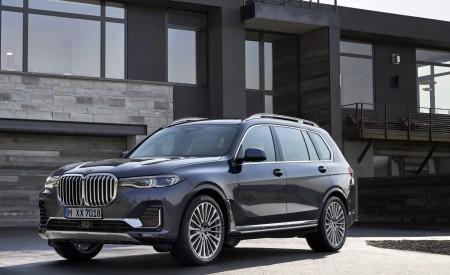 2019 BMW X7 (Color: Arctic Grey) Front Wallpaper 450x275 (15)
