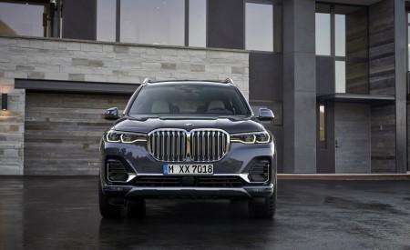 2019 BMW X7 (Color: Arctic Grey) Front Wallpaper 450x275 (16)