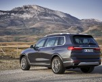 2019 BMW X7 (Color: Arctic Grey) Rear Three-Quarter Wallpaper 150x120 (23)