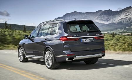 2019 BMW X7 (Color: Arctic Grey) Rear Three-Quarter Wallpaper 450x275 (5)