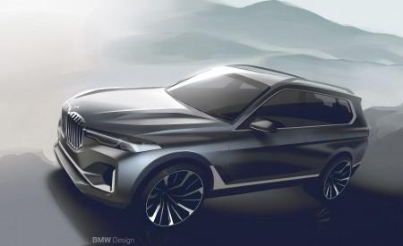 2019 BMW X7 Design Sketch Wallpaper 450x275 (65)