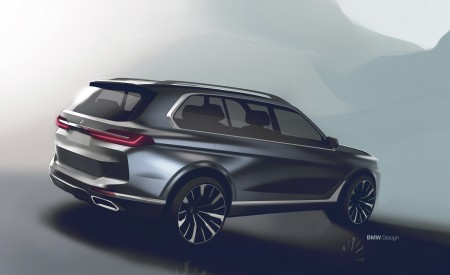2019 BMW X7 Design Sketch Wallpaper 450x275 (66)