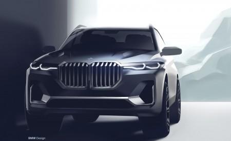 2019 BMW X7 Design Sketch Wallpaper 450x275 (67)