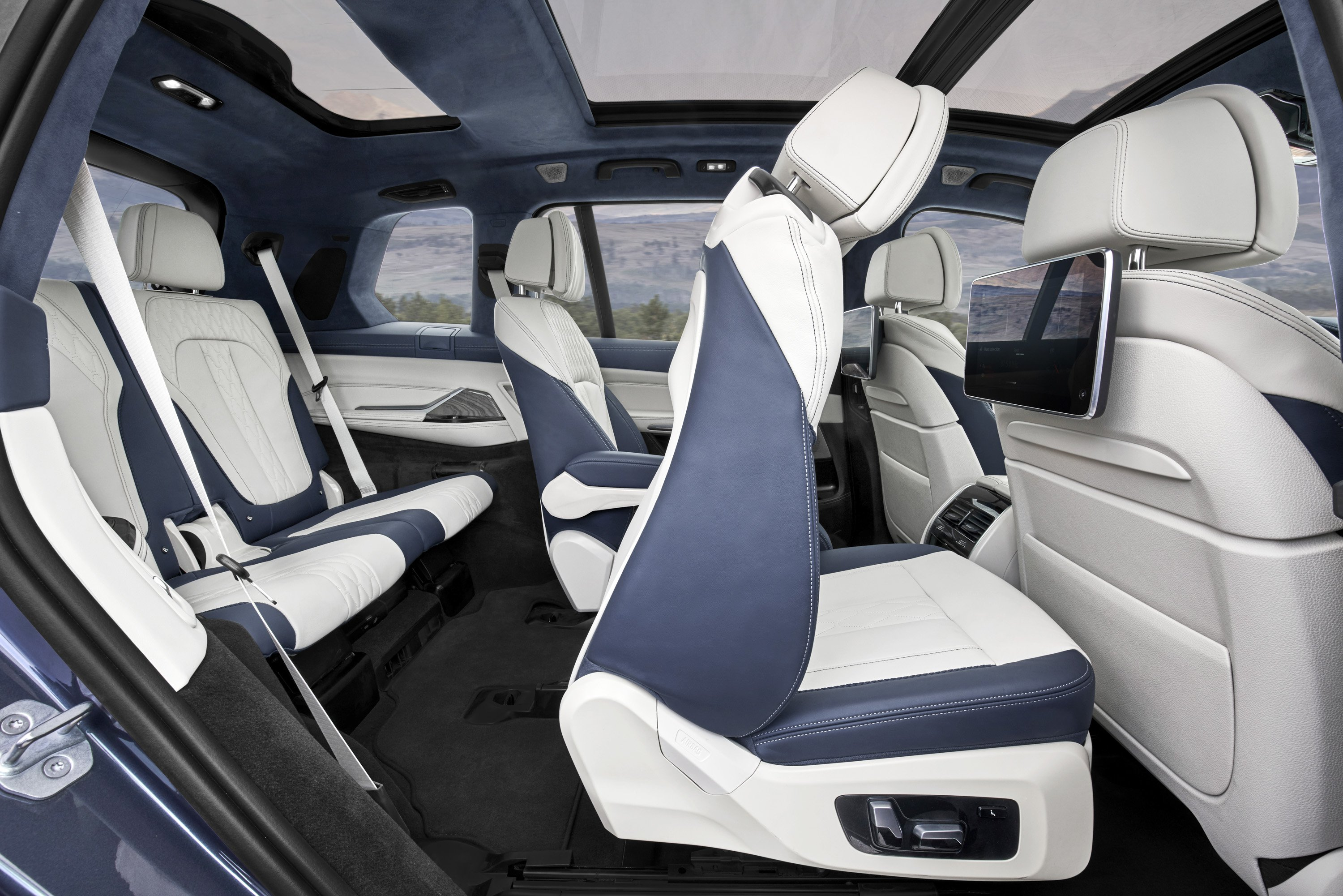 2019 Bmw X7 Interior Third Row Seats Wallpapers 57 Newcarcars