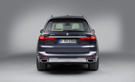 2019 BMW X7 Rear Wallpaper 450x275 (41)