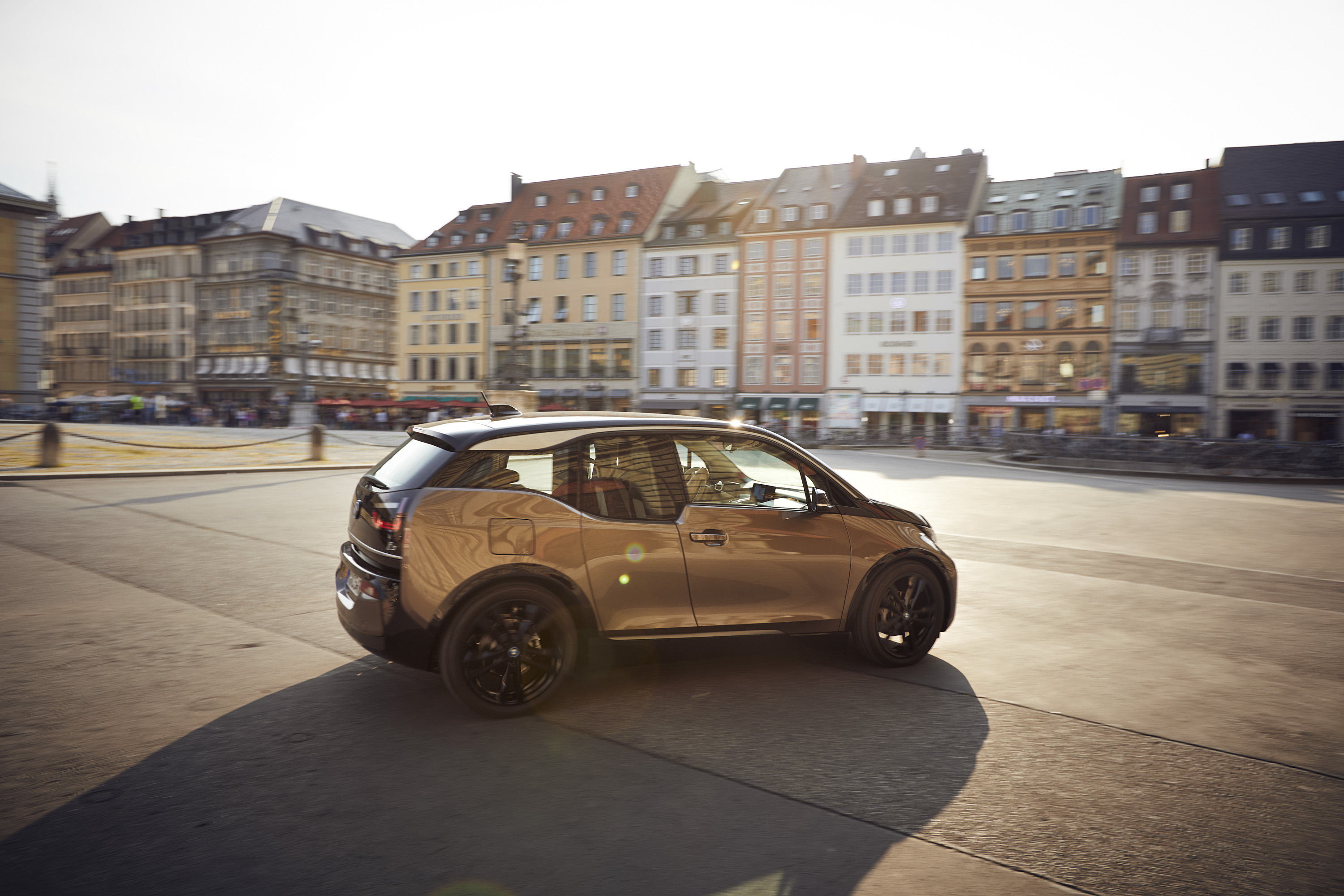 2019 BMW i3 120Ah Rear Three-Quarter Wallpapers (7)