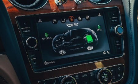 2019 Bentley Bentayga Plug-in Hybrid Central Console Wallpapers 450x275 (26)