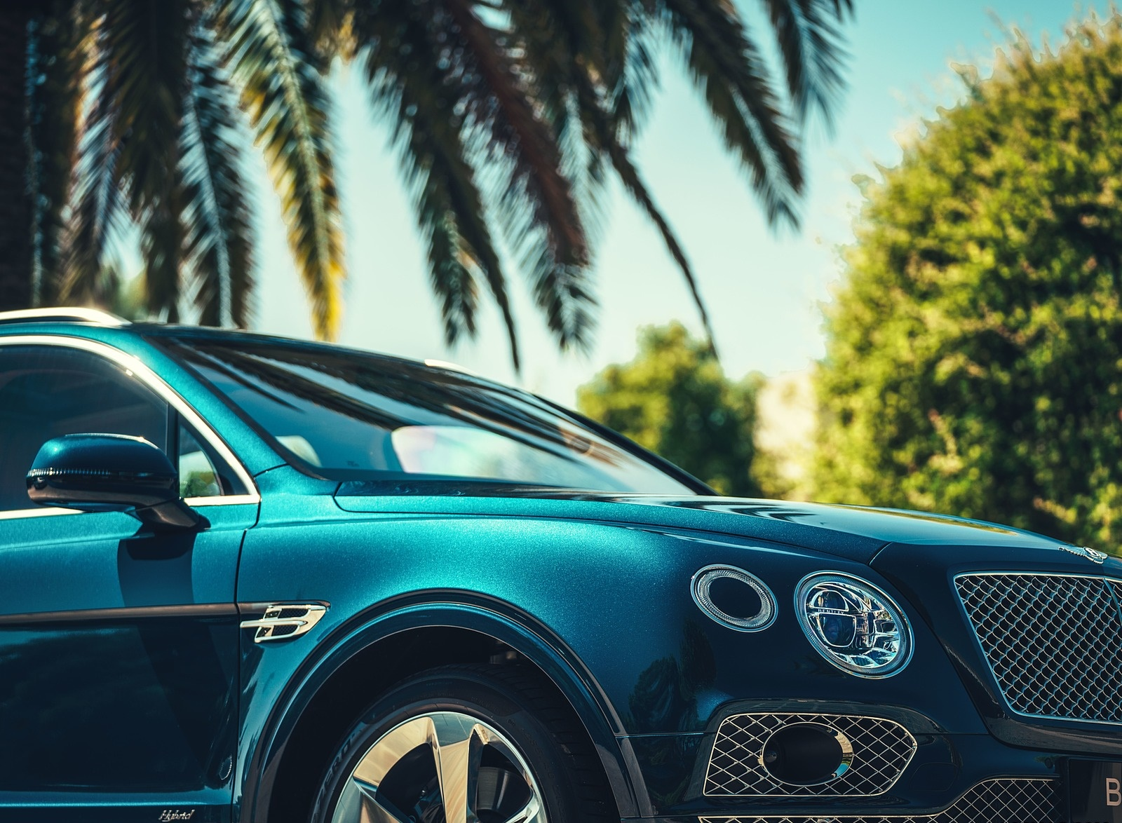 2019 Bentley Bentayga Plug-in Hybrid Detail Wallpapers (14)