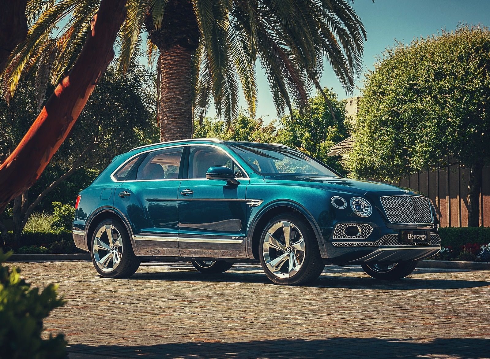2019 Bentley Bentayga Plug-in Hybrid Front Three-Quarter Wallpapers (6)