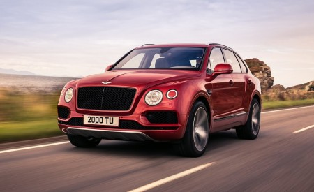 2019 Bentley Bentayga V8 Front Three-Quarter Wallpapers 450x275 (1)