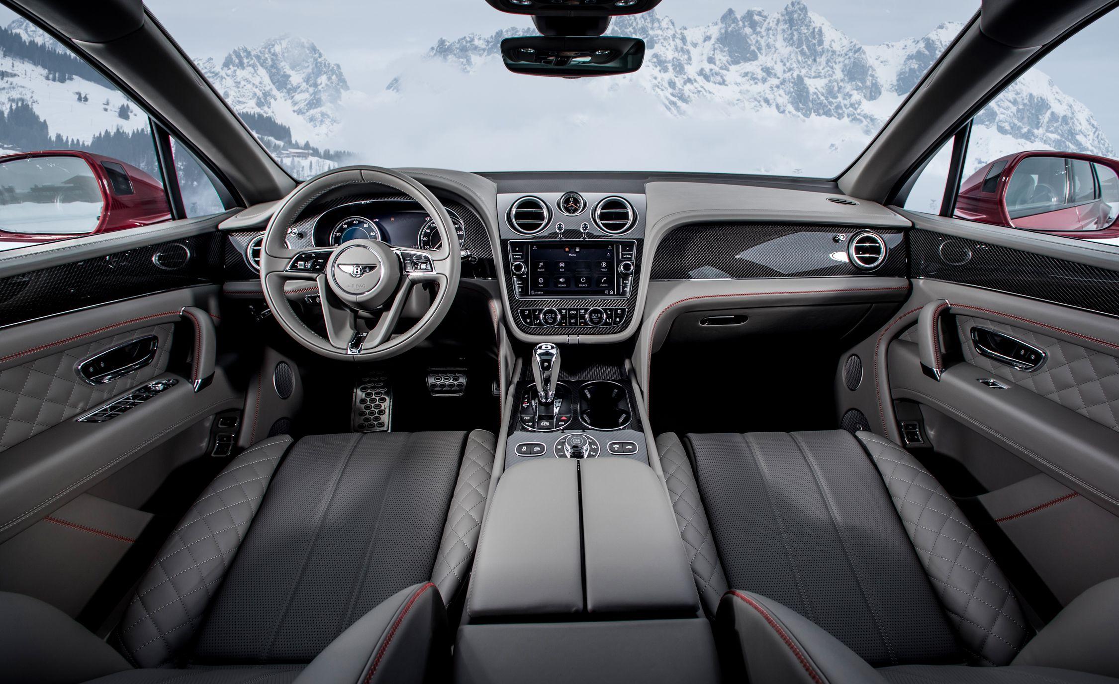 2019 Bentley Bentayga V8 Interior Cockpit Wallpapers 46 Newcarcars