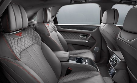 2019 Bentley Bentayga V8 Interior Rear Seats Wallpaper 450x275 (34)