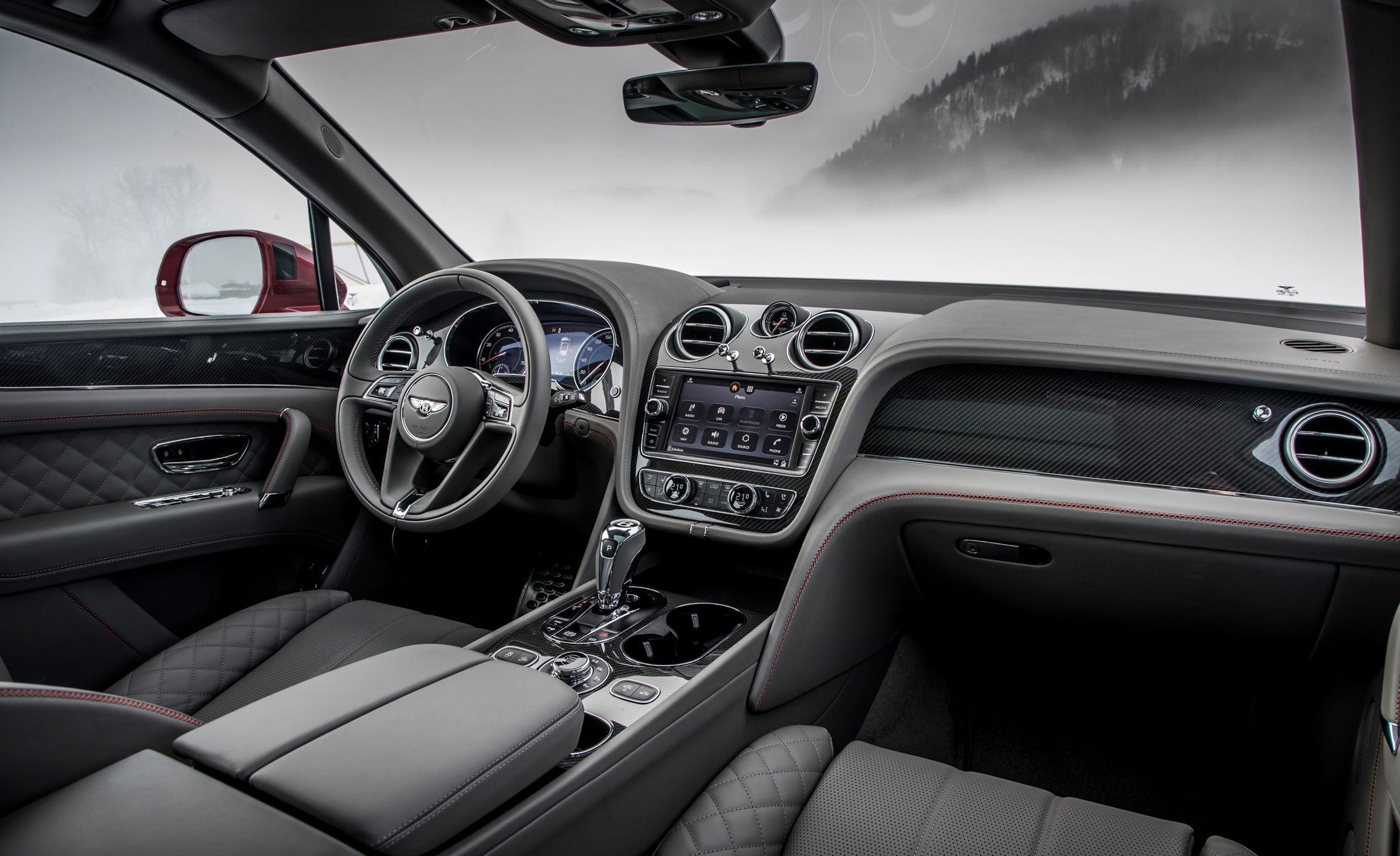 2019 Bentley Bentayga V8 Interior Seats Wallpapers 38 Newcarcars