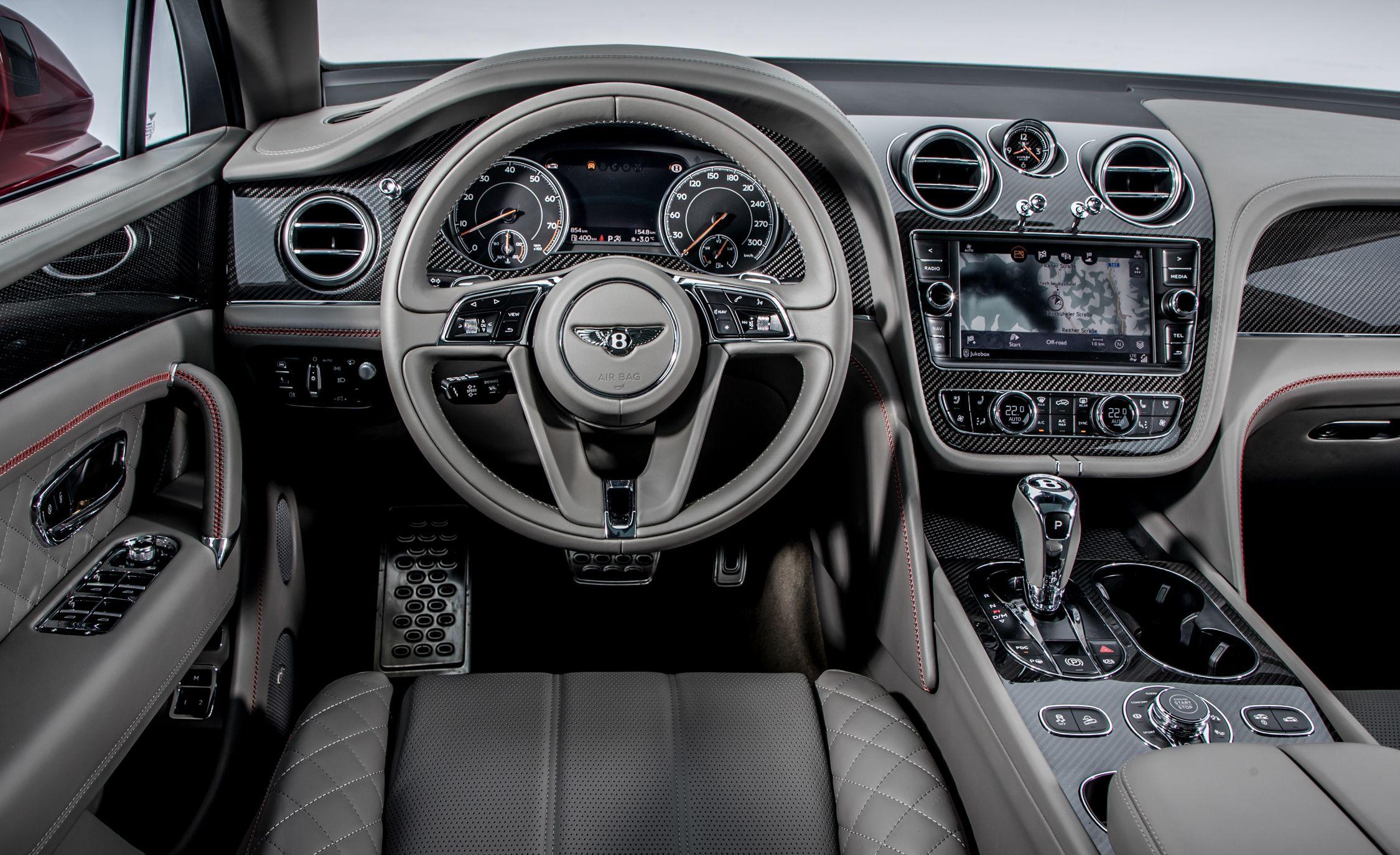 2019 Bentley Bentayga V8 Interior Wallpapers 48 Newcarcars
