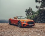 2019 Bentley Continental GT Convertible (Color: Orange Flame) Front Three-Quarter Wallpaper 150x120 (10)