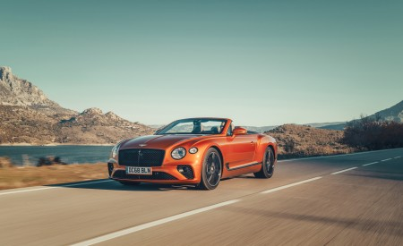 2019 Bentley Continental GT Convertible Wallpapers HD