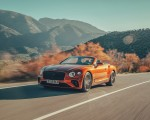 2019 Bentley Continental GT Convertible (Color: Orange Flame) Front Three-Quarter Wallpaper 150x120 (2)
