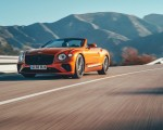 2019 Bentley Continental GT Convertible (Color: Orange Flame) Front Wallpaper 150x120 (3)