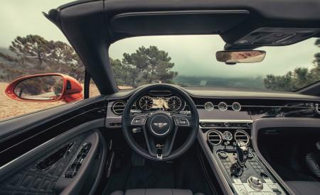2019 Bentley Continental GT Convertible (Color: Orange Flame) Interior Cockpit Wallpaper 450x275 (32)