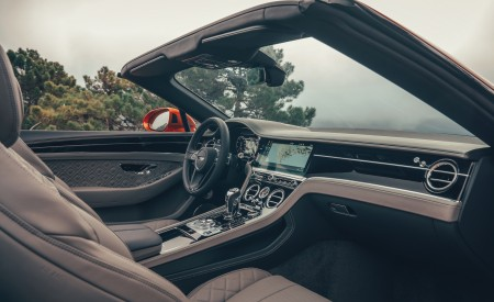 2019 Bentley Continental GT Convertible (Color: Orange Flame) Interior Front Seats Wallpaper 450x275 (29)