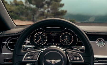 2019 Bentley Continental GT Convertible (Color: Orange Flame) Interior Steering Wheel Wallpaper 450x275 (27)