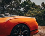 2019 Bentley Continental GT Convertible (Color: Orange Flame) Rear Bumper Wallpaper 150x120 (22)
