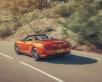 2019 Bentley Continental GT Convertible (Color: Orange Flame) Rear Three-Quarter Wallpaper 150x120 (5)