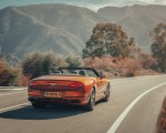 2019 Bentley Continental GT Convertible (Color: Orange Flame) Rear Three-Quarter Wallpaper 150x120 (6)