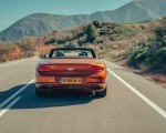 2019 Bentley Continental GT Convertible (Color: Orange Flame) Rear Wallpaper 150x120 (8)