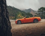 2019 Bentley Continental GT Convertible (Color: Orange Flame) Side Wallpaper 150x120 (14)