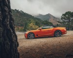 2019 Bentley Continental GT Convertible (Color: Orange Flame) Side Wallpaper 150x120 (12)