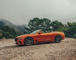 2019 Bentley Continental GT Convertible (Color: Orange Flame) Side Wallpaper 150x120 (13)