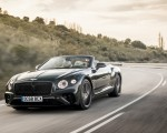 2019 Bentley Continental GT Convertible (Color: Verdant) Front Three-Quarter Wallpaper 150x120 (36)