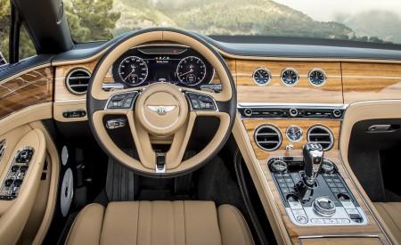 2019 Bentley Continental GT Convertible (Color: Verdant) Interior Cockpit Wallpaper 450x275 (40)