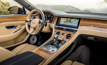 2019 Bentley Continental GT Convertible (Color: Verdant) Interior Wallpaper 450x275 (39)
