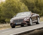 2019 Bentley Continental GT Convertible Front Three-Quarter Wallpaper 150x120 (50)