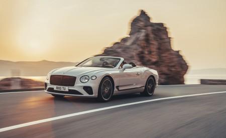 2019 Bentley Continental GT Convertible Front Three-Quarter Wallpaper 450x275 (64)