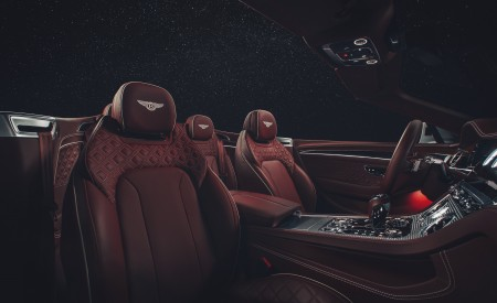 2019 Bentley Continental GT Convertible Interior Seats Wallpaper 450x275 (106)
