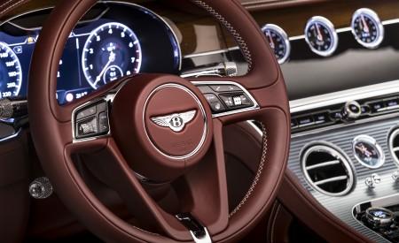2019 Bentley Continental GT Convertible Interior Steering Wheel Wallpaper 450x275 (89)