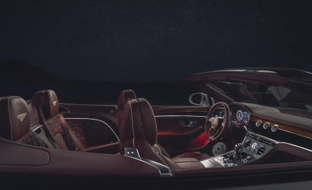 2019 Bentley Continental GT Convertible Interior Wallpaper 450x275 (105)