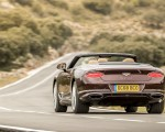 2019 Bentley Continental GT Convertible Rear Wallpaper 150x120 (46)