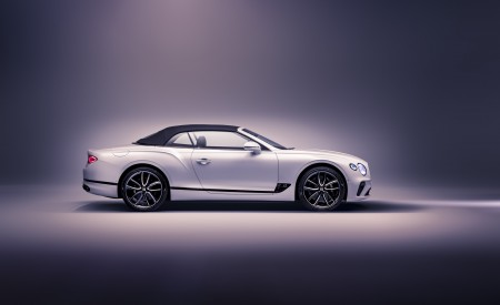 2019 Bentley Continental GT Convertible Side Wallpaper 450x275 (101)
