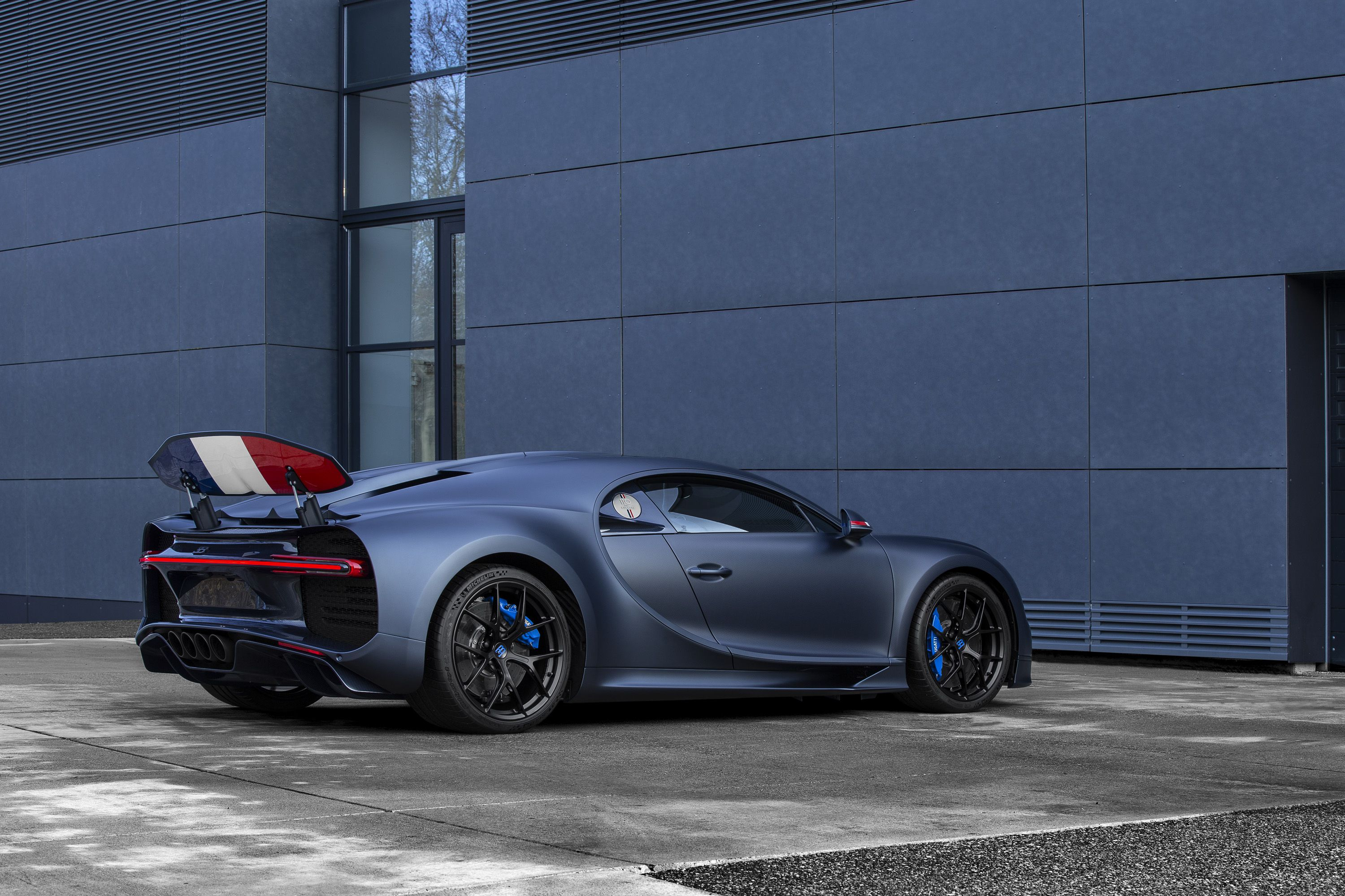 2019 Bugatti Chiron Sport 110 ans Bugatti Rear Three-Quarter Wallpapers (3)