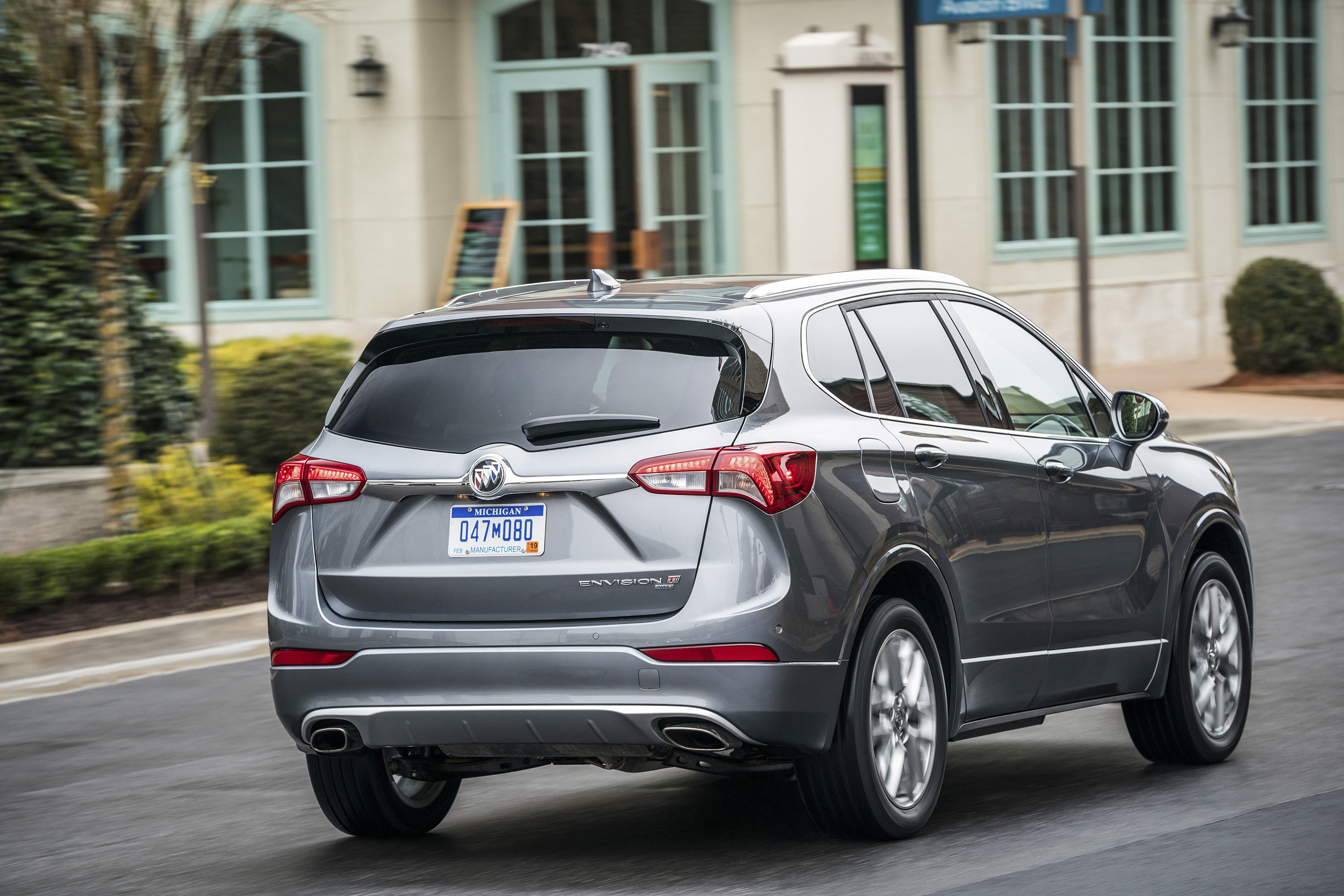 2019 Buick Envision Rear Three-Quarter Wallpapers (4)