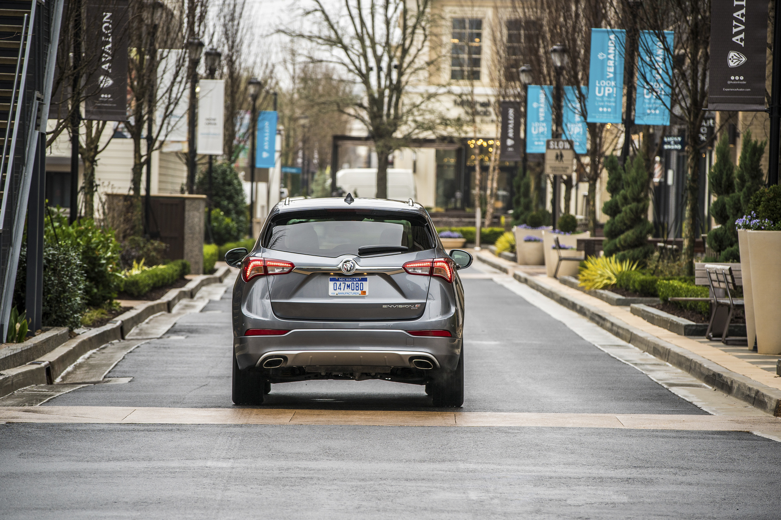 2019 Buick Envision Rear Wallpapers (5)