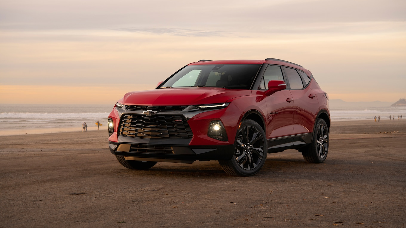 2019 Chevrolet Blazer RS Front Three-Quarter Wallpapers (11)