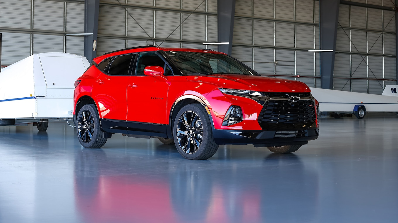 2019 Chevrolet Blazer RS Front Three-Quarter Wallpapers (13)